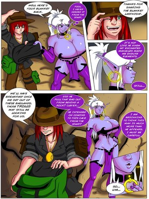 Adult Comics Jack and Syx- Altering Encounters Porn Comic 05