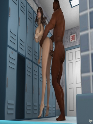 3D Porn Comics Jimjim- The Locker Room Porn Comic 28