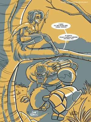 Adult Comics John North- Jungle Jackson Porn Comic 03