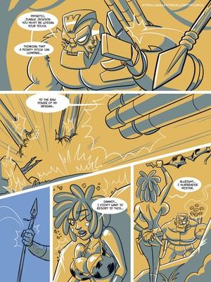 Adult Comics John North- Jungle Jackson Porn Comic 05