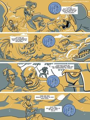 Adult Comics John North- Jungle Jackson Porn Comic 11