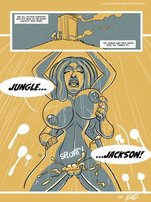 Adult Comics John North- Jungle Jackson Porn Comic 28