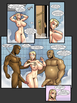 Interracial Comics John Persons & Rabies- Jenny and Ivana Porn Comic 14