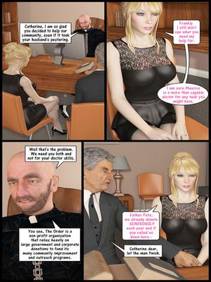 3D Porn Comics John Persons- Christian Knockers Series 4 Porn Comic 10