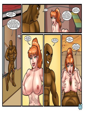 Porn Comics - Interracial : John Persons- Pool Party Porn Comic