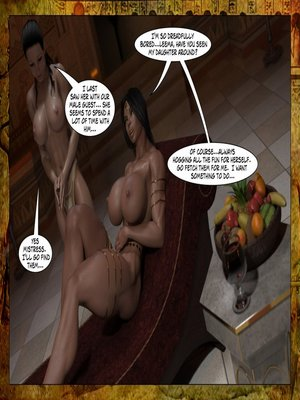 3D Porn Comics Joos3dart- Queen Farah- A Howl in the Night Porn Comic 02