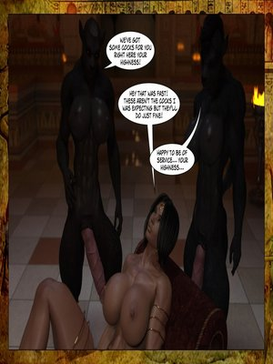 3D Porn Comics Joos3dart- Queen Farah- A Howl in the Night Porn Comic 05