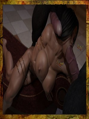 3D Porn Comics Joos3dart- Queen Farah- A Howl in the Night Porn Comic 07