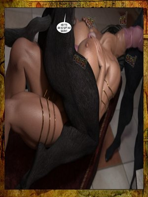 3D Porn Comics Joos3dart- Queen Farah- A Howl in the Night Porn Comic 08