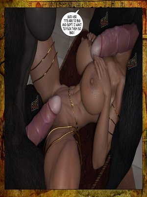 3D Porn Comics Joos3dart- Queen Farah- A Howl in the Night Porn Comic 11