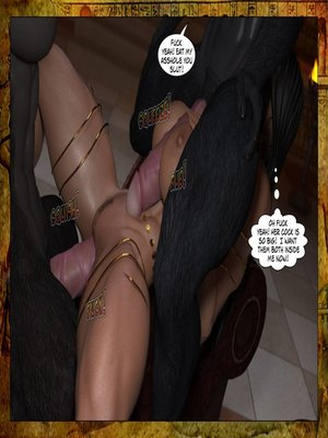 3D Porn Comics Joos3dart- Queen Farah- A Howl in the Night Porn Comic 12