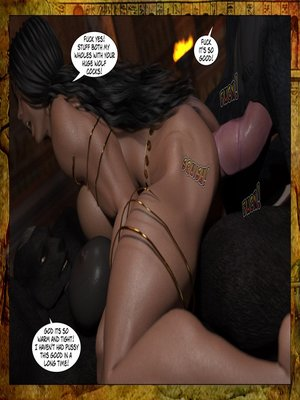 3D Porn Comics Joos3dart- Queen Farah- A Howl in the Night Porn Comic 14