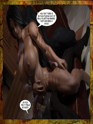 3D Porn Comics Joos3dart- Queen Farah- A Howl in the Night Porn Comic 18