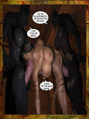 3D Porn Comics Joos3dart- Queen Farah- A Howl in the Night Porn Comic 25