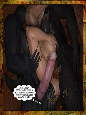 3D Porn Comics Joos3dart- Queen Farah- A Howl in the Night Porn Comic 30