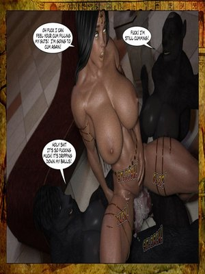 3D Porn Comics Joos3dart- Queen Farah- A Howl in the Night Porn Comic 39