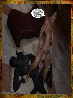 3D Porn Comics Joos3dart- Queen Farah- A Howl in the Night Porn Comic 41