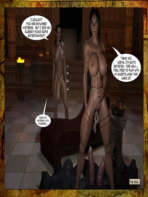 Joos3dart- Queen Farah- A Howl in the Night free Porn Comic