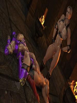 Joos3DArt- Sonya Vs Mileena [Mortal Kumbat] free Porn Comic