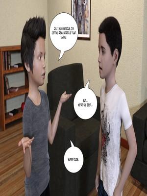 3D Porn Comics KakiharaD- Game Over Porn Comic 04
