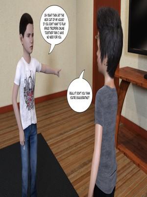 3D Porn Comics KakiharaD- Game Over Porn Comic 05