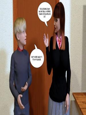 Porn Comics - 3D : KakiharaD- The Tutor Porn Comic