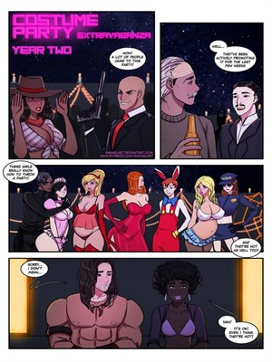 Porn Comics - Kannel- Costume Party Extravaganza Year Two free Porn Comic