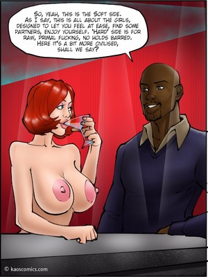 Interracial Comics Kaos- Annabelleu2019s New Life 2 Porn Comic 14
