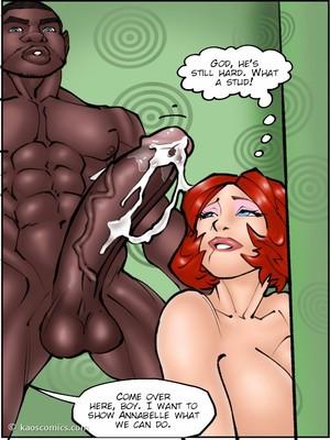 Interracial : Kaos- Annabelleu2019s New Life 2 Porn Comic sex 39