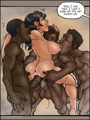 Interracial Comics Kaos- Annabelleu2019s New Life 2 Porn Comic 69