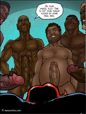 Interracial Comics Kaos- Annabelleu2019s New Life 2 Porn Comic 77