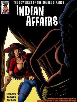 Adult Comics Karmagik- Indian Affairs Porn Comic 01