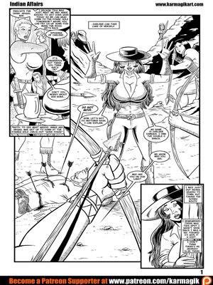Adult Comics Karmagik- Indian Affairs Porn Comic 02