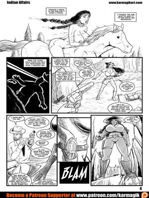 Adult Comics Karmagik- Indian Affairs Porn Comic 05