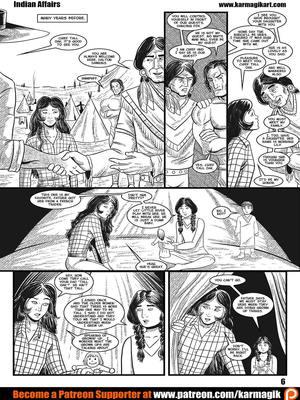 Adult Comics Karmagik- Indian Affairs Porn Comic 07