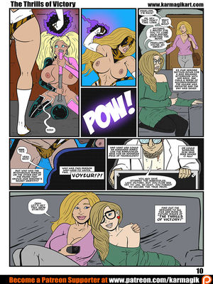 Karmagik- The Thrills of Victory free Porn Comic