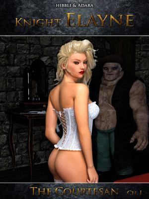 Porn Comics - Knight Elayne – The Courtesan free Porn Comic