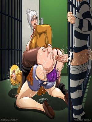 Adult Comics Kogeikun Simpsons and Others art Porn Comic 16