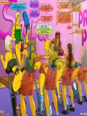Adult Comics Kogeikun Simpsons and Others art Porn Comic 28