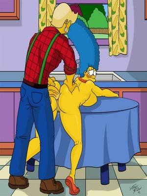 Adult Comics Kogeikun Simpsons and Others art Porn Comic 33