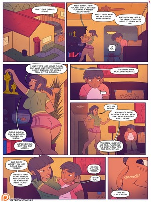 Incest Comics Laz- There Goes The Neighborhood Porn Comic 08