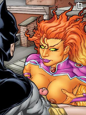 Porn Comics - Leandro- Batman and Starfire Have Hot Fuck free Porn Comic