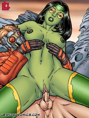 Porn Comics - Leandro- Gamora Bounces On Star Lord's Hard Cock free Porn Comic