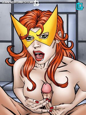 Porn Comics - Leandro- Jean Grey Dressed as Marvel Girl free Porn Comic