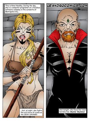 Porn Comics - Leandro- Sexy Savage free Porn Comic