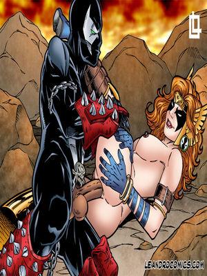 Porn Comics - Leandro- Spawn Gallery free Porn Comic