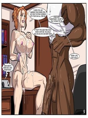 Interracial : License to Fuck- John Persons Porn Comic sex 06
