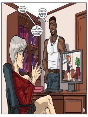Interracial Comics License to Fuck- John Persons Porn Comic 07