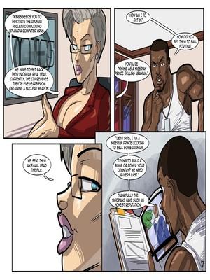 Interracial Comics License to Fuck- John Persons Porn Comic 08