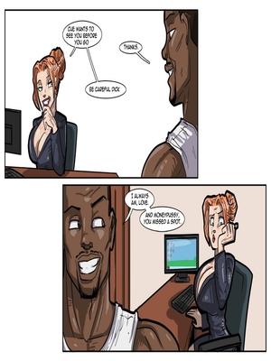 Interracial : License to Fuck- John Persons Porn Comic sex 10